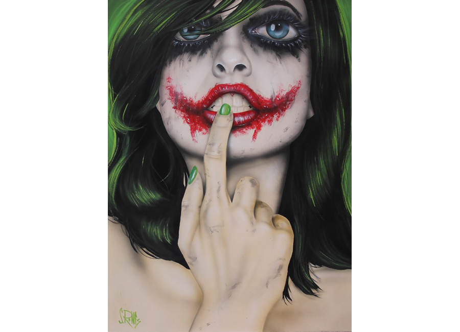 pinturas de arte moda