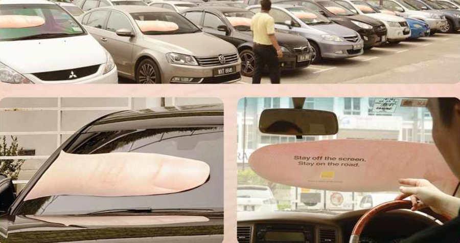 publicidad para conductores