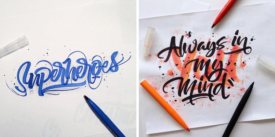 trabajos tipográficos