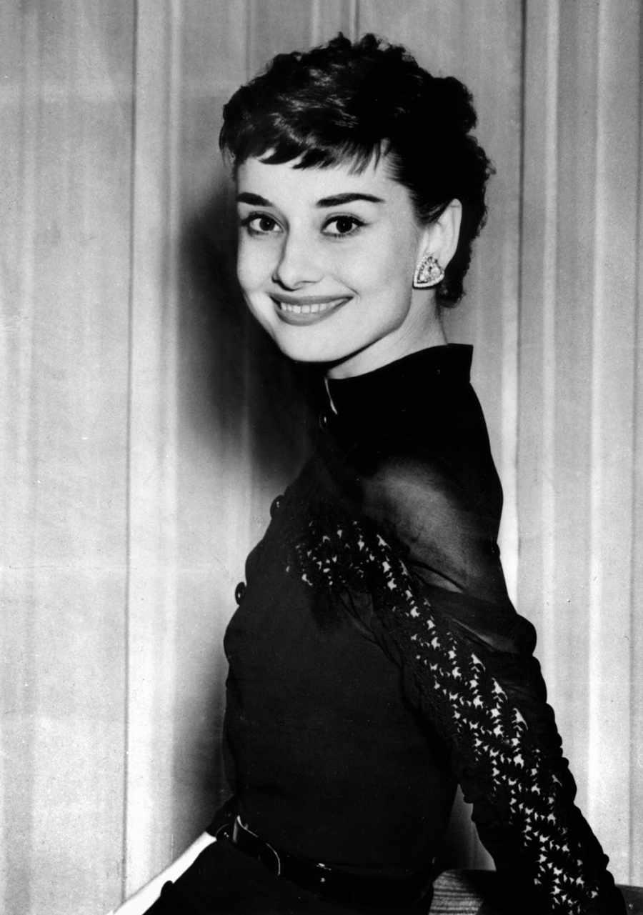 Audrey Hepburn en los años cincuentas