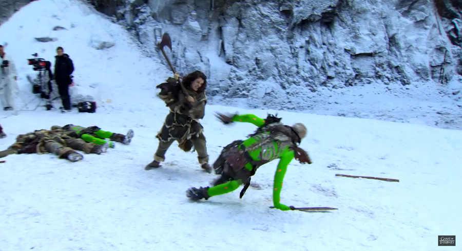efectos visuales en game of thrones