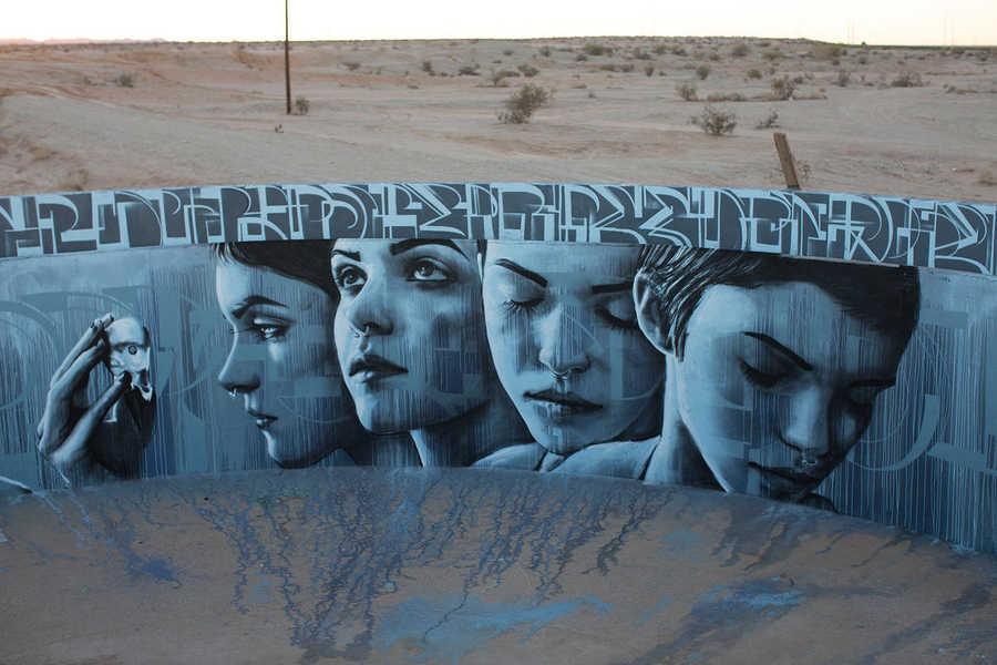 graffiti circular