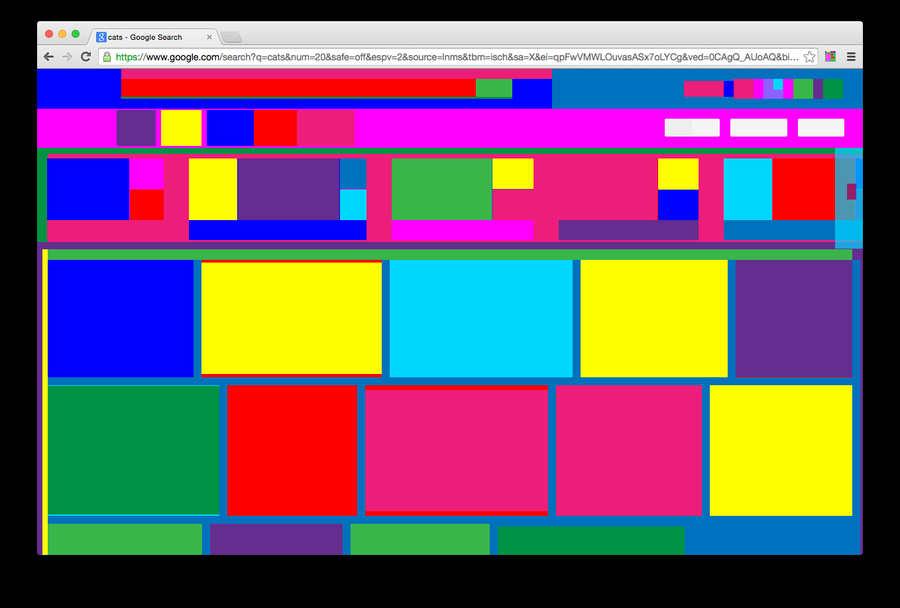 página web abstracta
