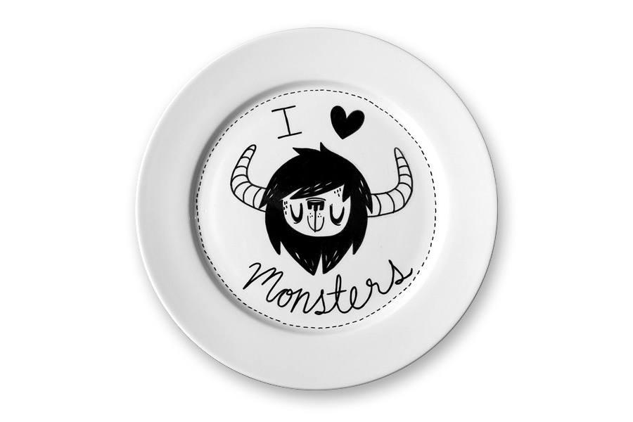 platos de monstruos