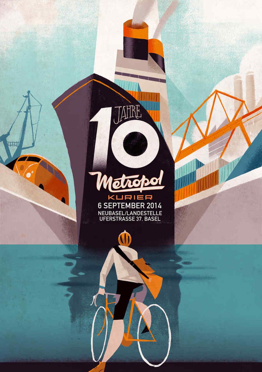 pósters de ciclismo