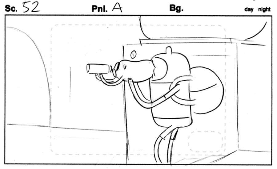 storyboards hora de aventura