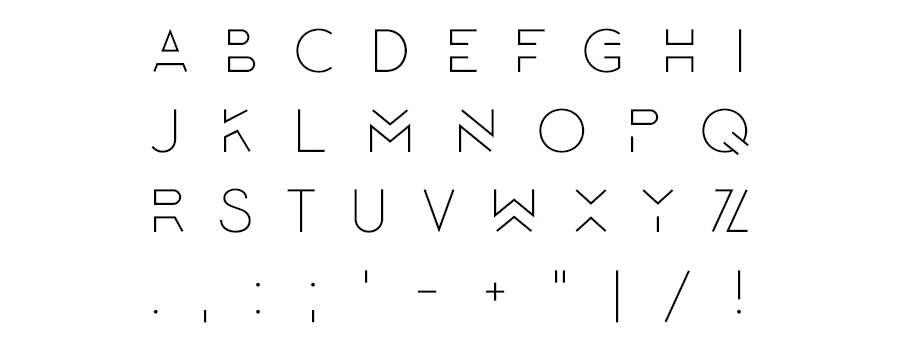 tipografía lombok