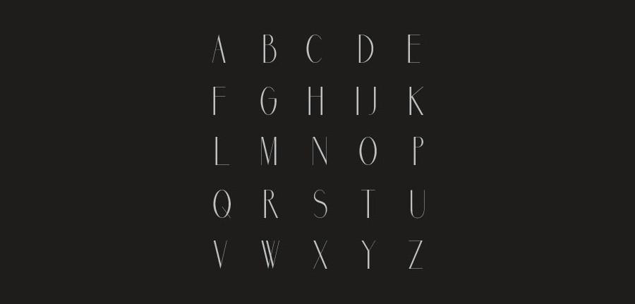 tipografía marbre