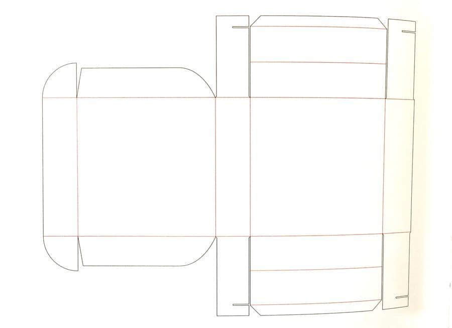 diseño de caja de pizza