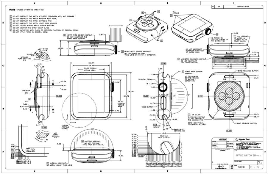 manual de diseño apple watch
