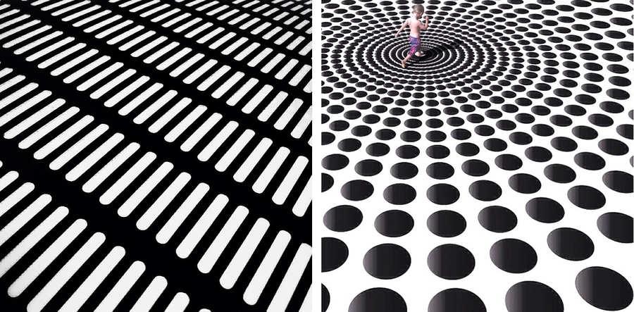 patrones geométricos en instagram