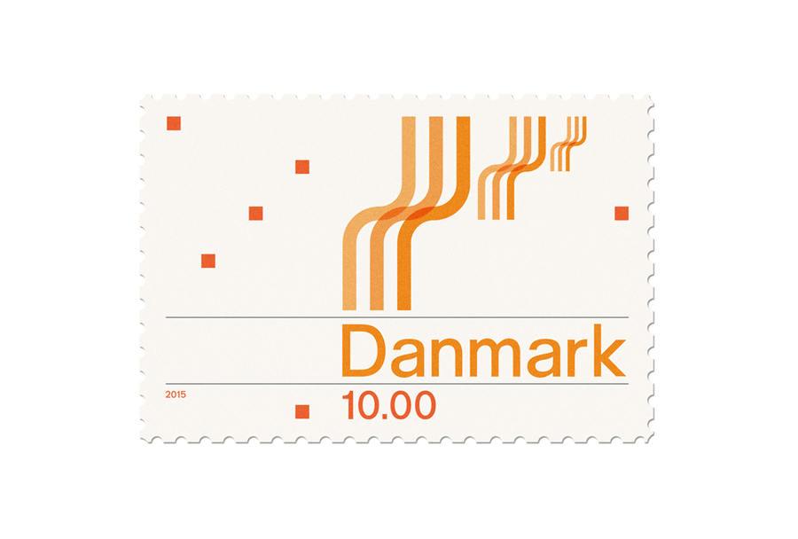 sellos postales elegantes