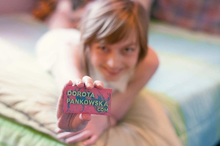 tarjetas de presentación de crayolas