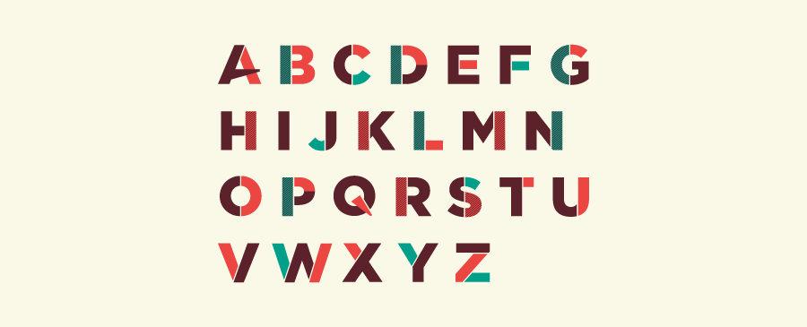 tipografía decorativa scratch typeface