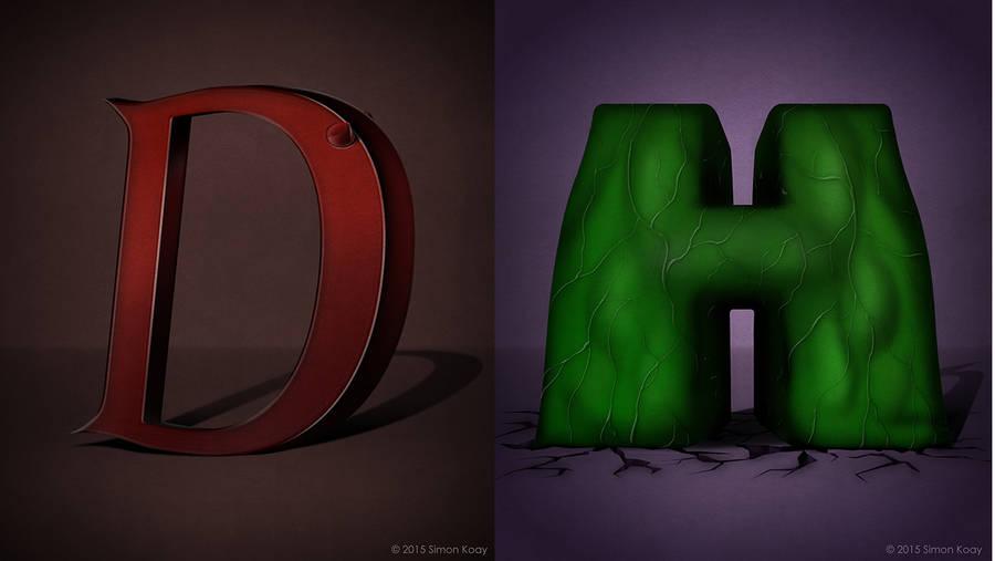 alfabeto de súper héroes