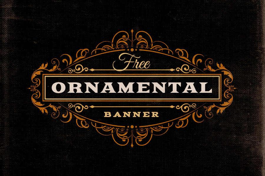 anuncios con adornos ornamentales