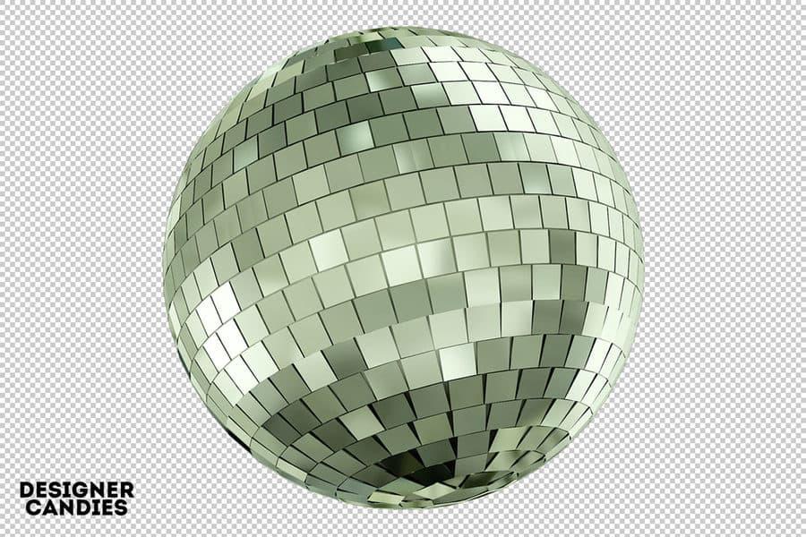 bola disco png