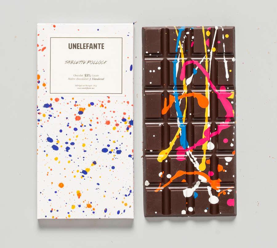 chocolate con pintura