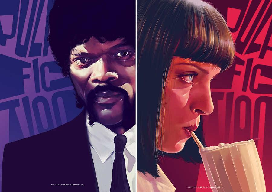 fan art posters de películas
