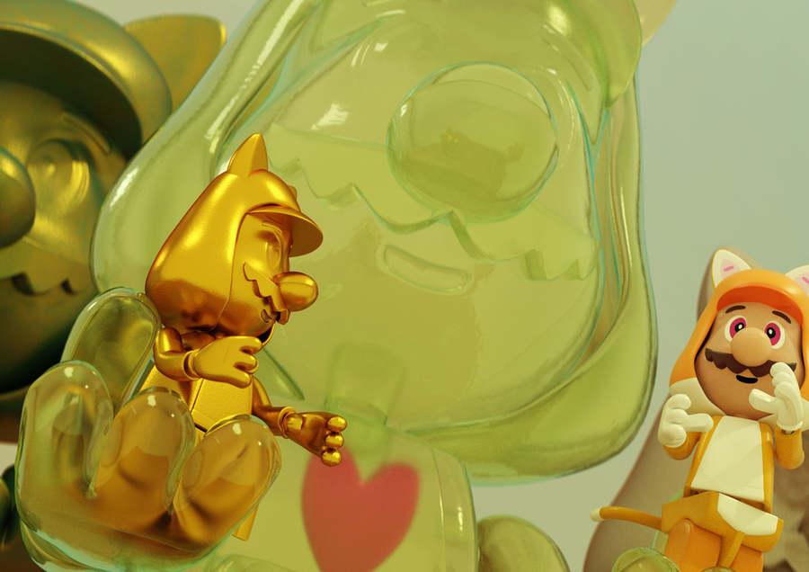juguetes de plástico hechos en 3d