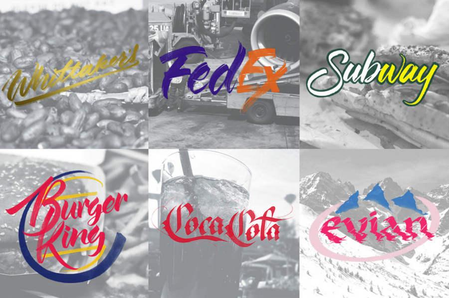 logotipos hechos con lettering
