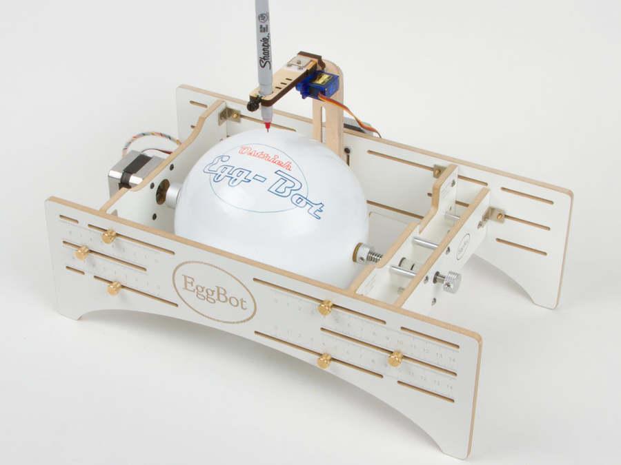 máquina para dibujar pelotas