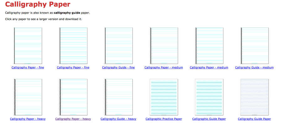 papeles para imprimir