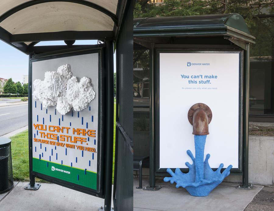 publicidad en paradas de autobús