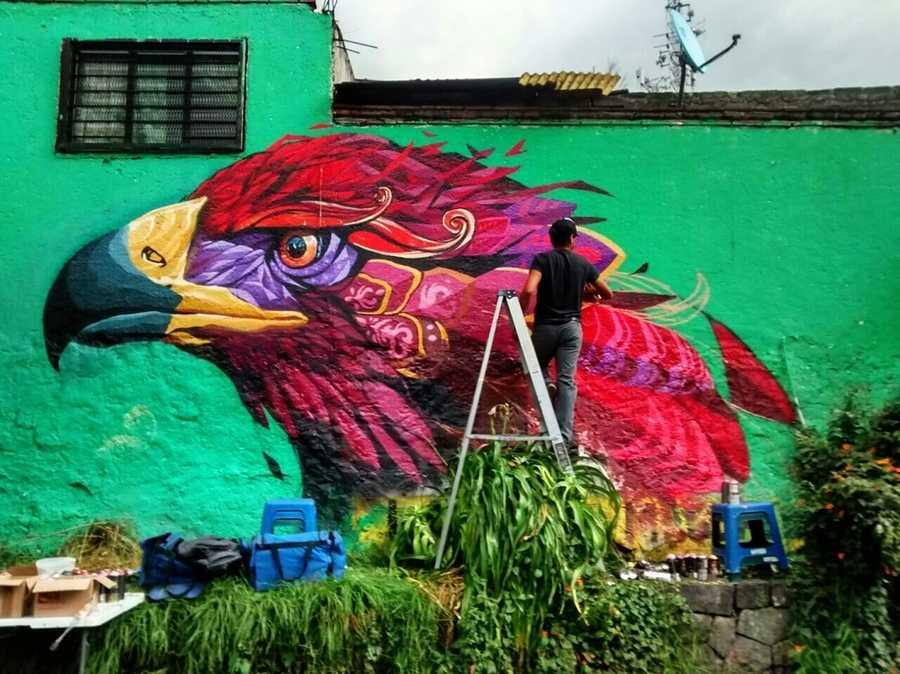 mural en México