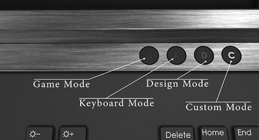 teclado personalizado para jugadores y diseñadores