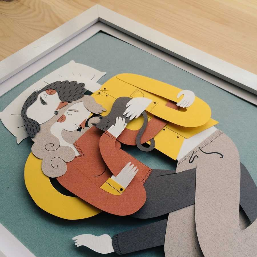 cómo hacer un hipster de papel