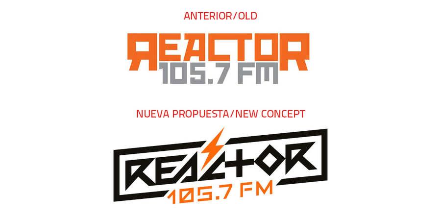 nuevo logotipo de reactor