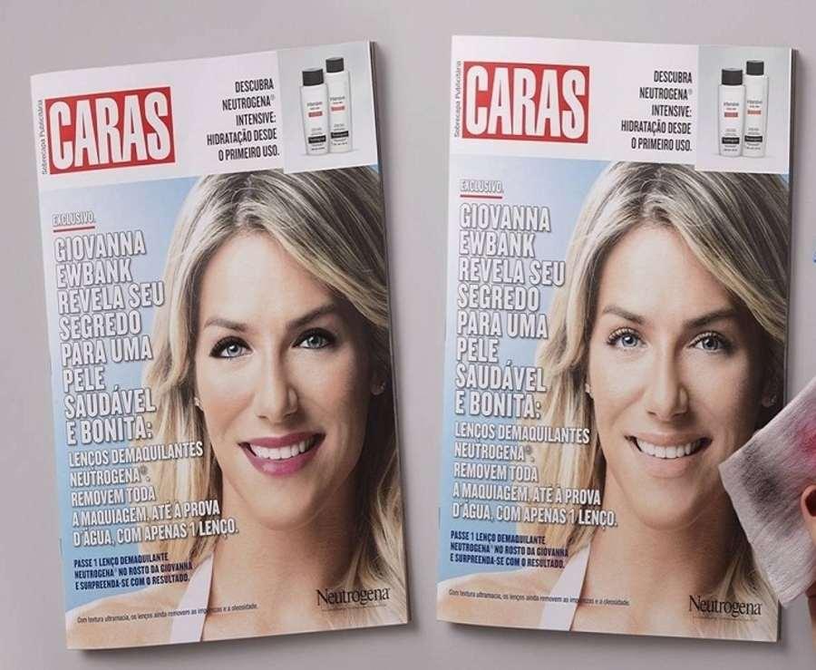 portada de revista interactiva