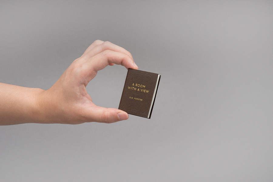 tarjetas de presentación de libro