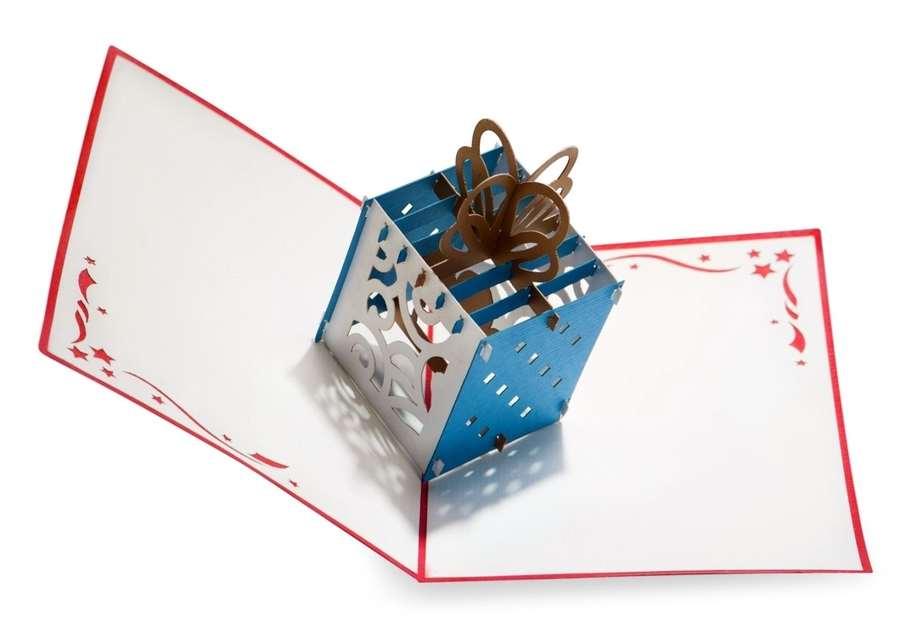 tarjetas pop up de cumpleaños