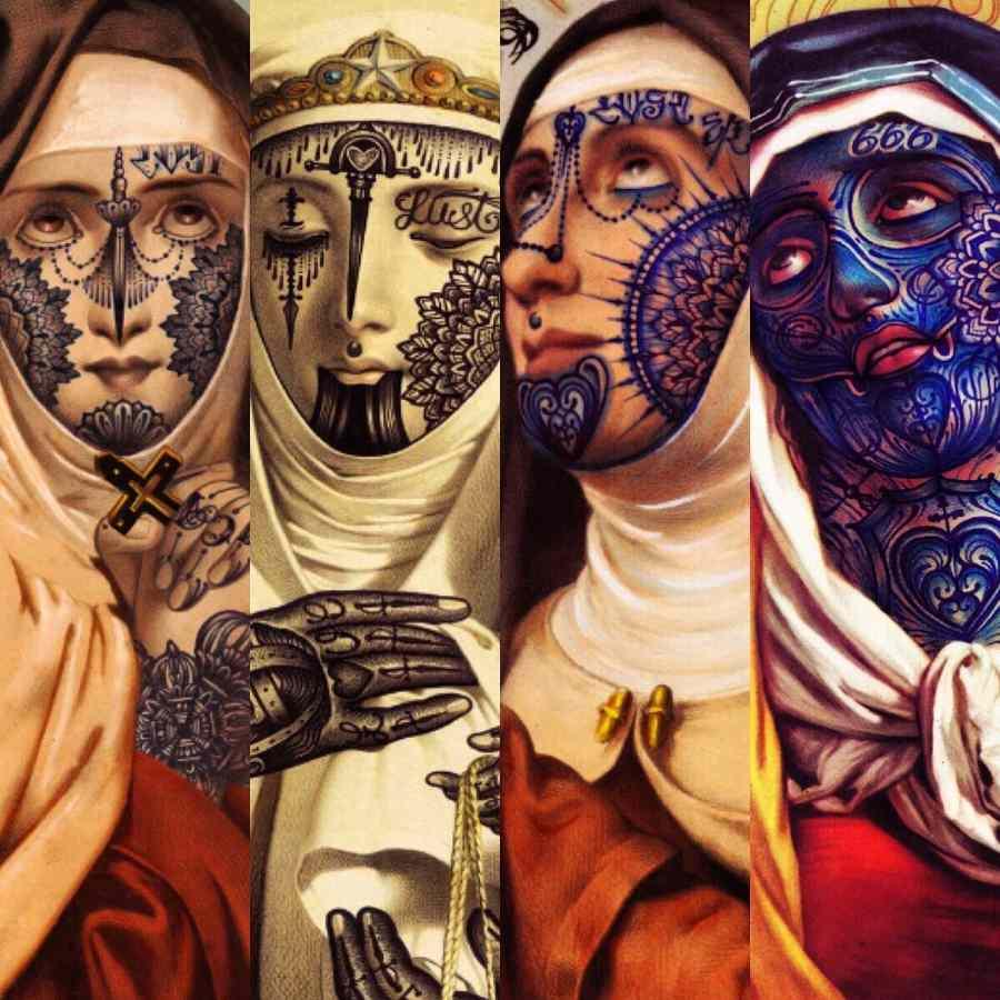 tatuajes religiosos tradicionales