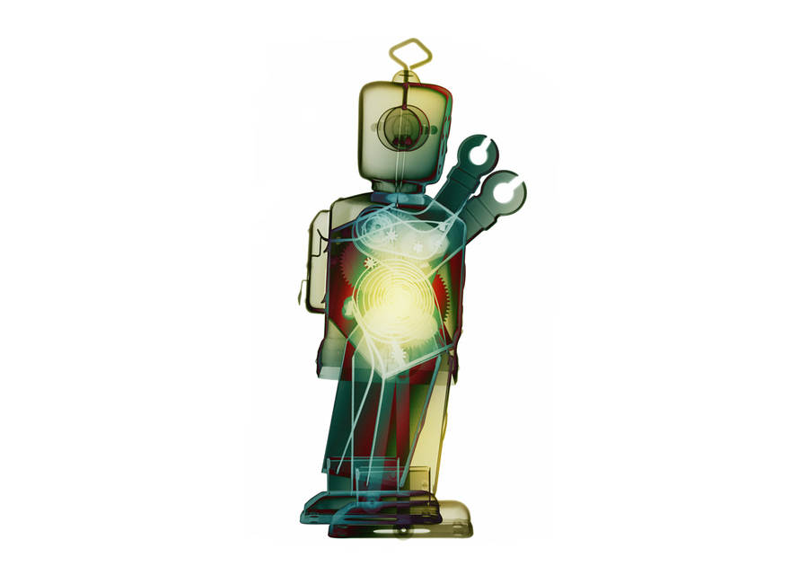fotos de rayos X de juguetes