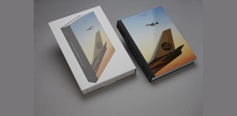libro de identidad visual de lineas aéreas