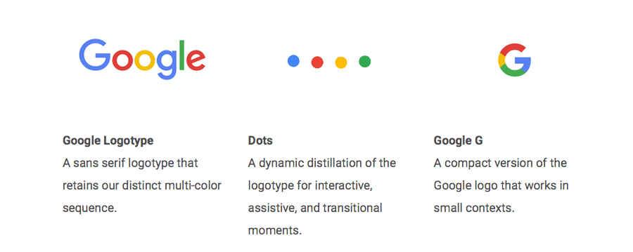 nuevo logotipo de google