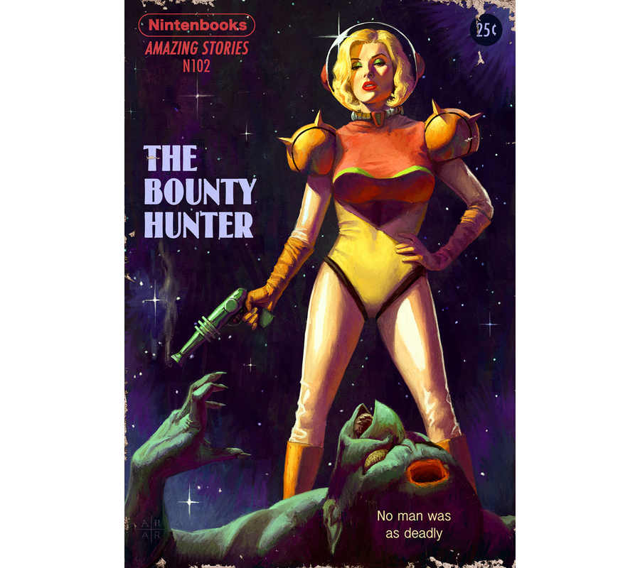 portadas de revistas de ciencia ficción
