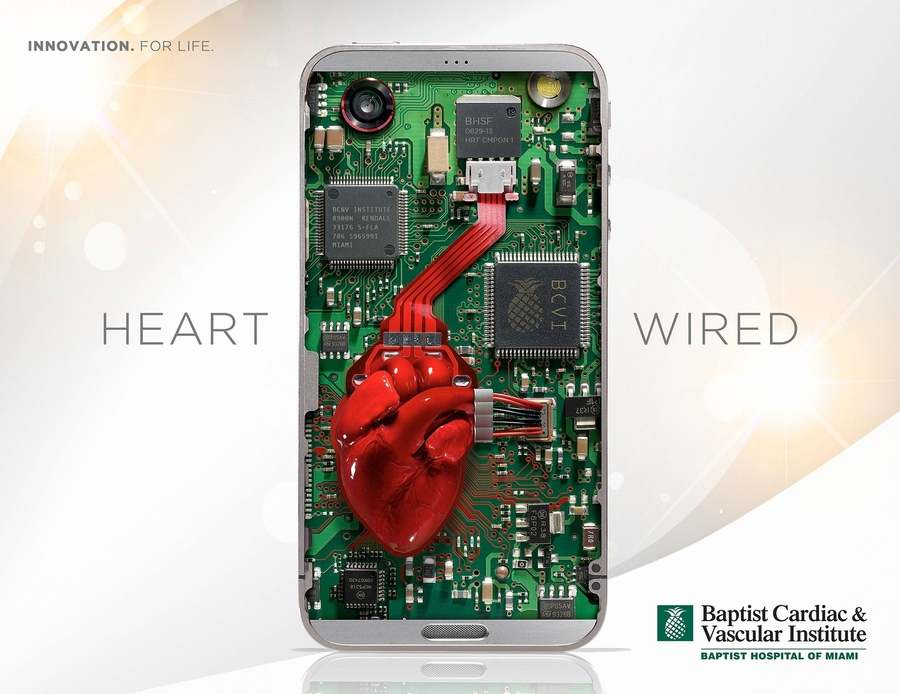 publicidad de hospital corazón