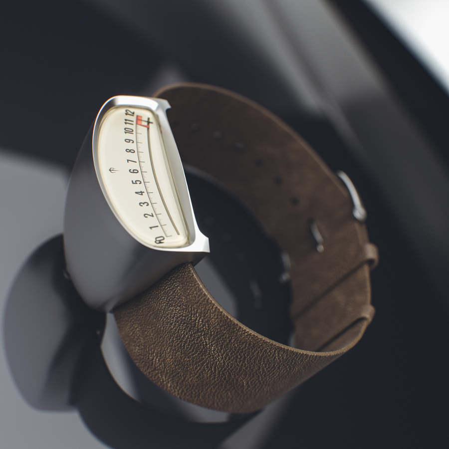 reloj medidor de auto