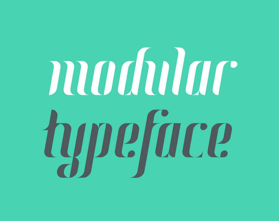 tipografia-con-diseno-geometrico