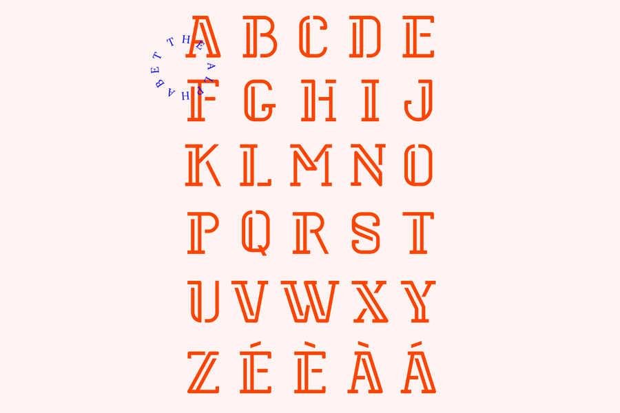 tipografía elegante