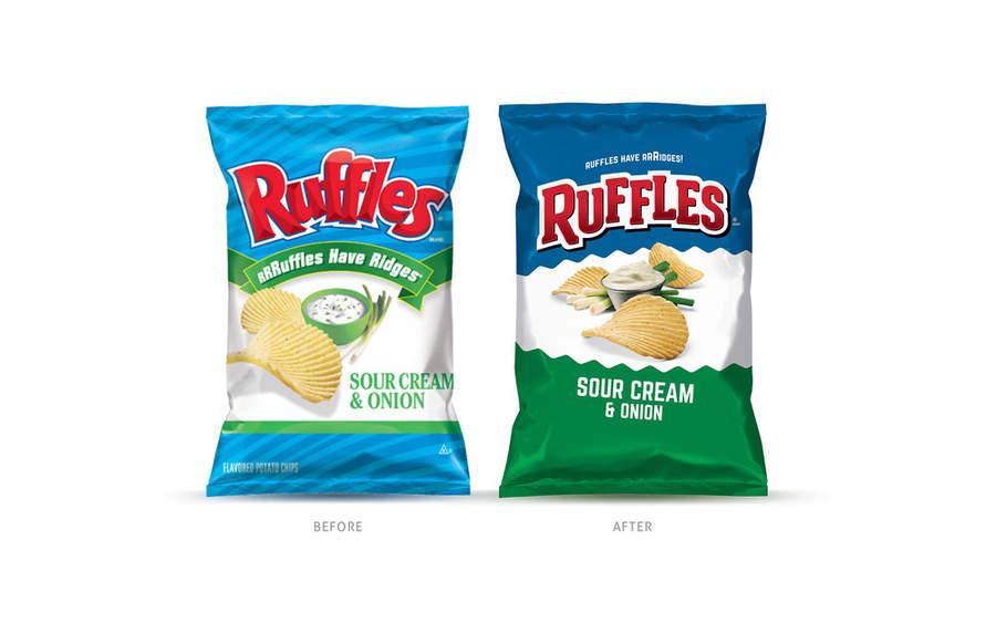 bolsas nuevas de Ruffles