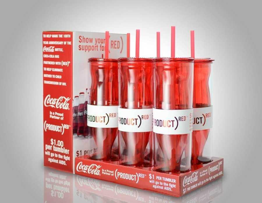 botella coca cola RED