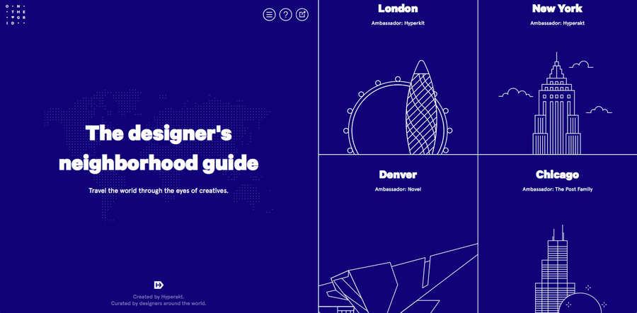 guía de viajes hechas por creativos