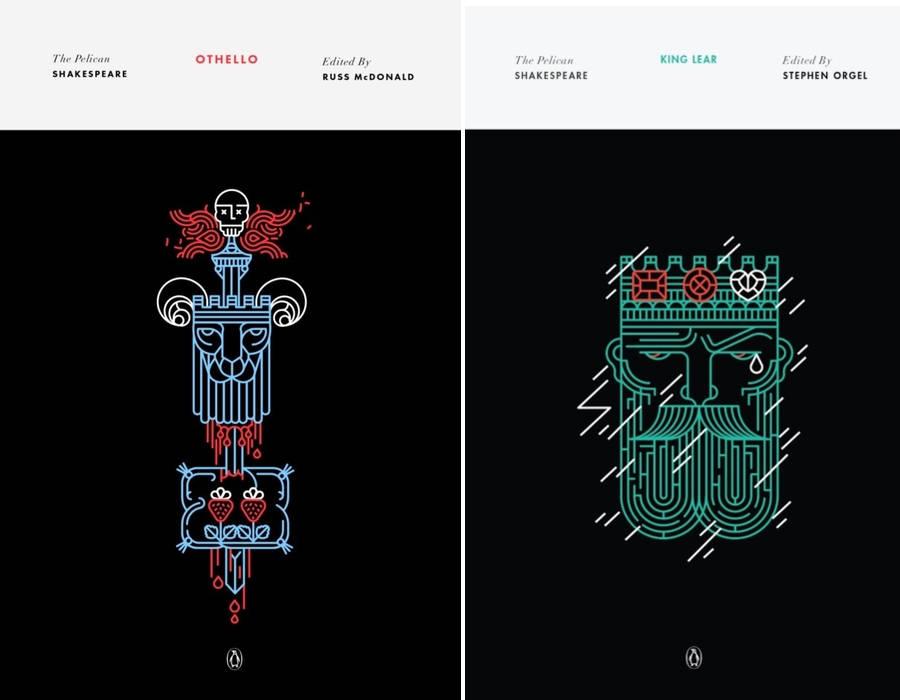 portadas para libros de Shakespeare