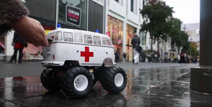 comercial ambulancias para celulares