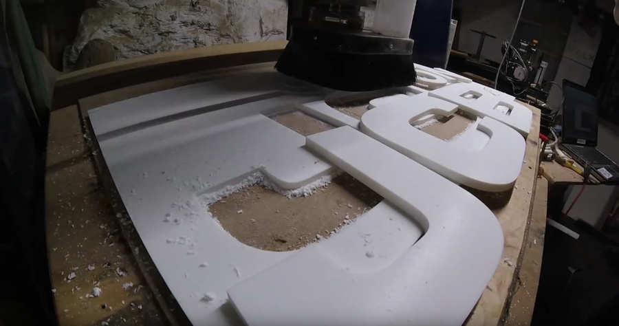 cómo se hace un letrero de madera